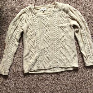 Beige sweater